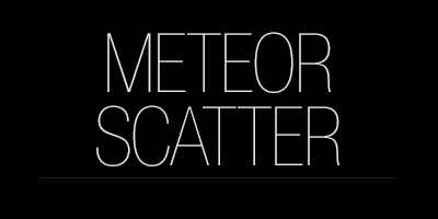 Meteor Forward Scatter